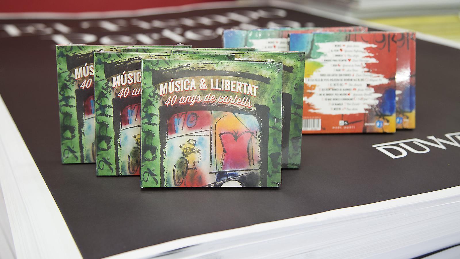 El CD celebra 40 anys de l'empresa de cartells Marc Martí.