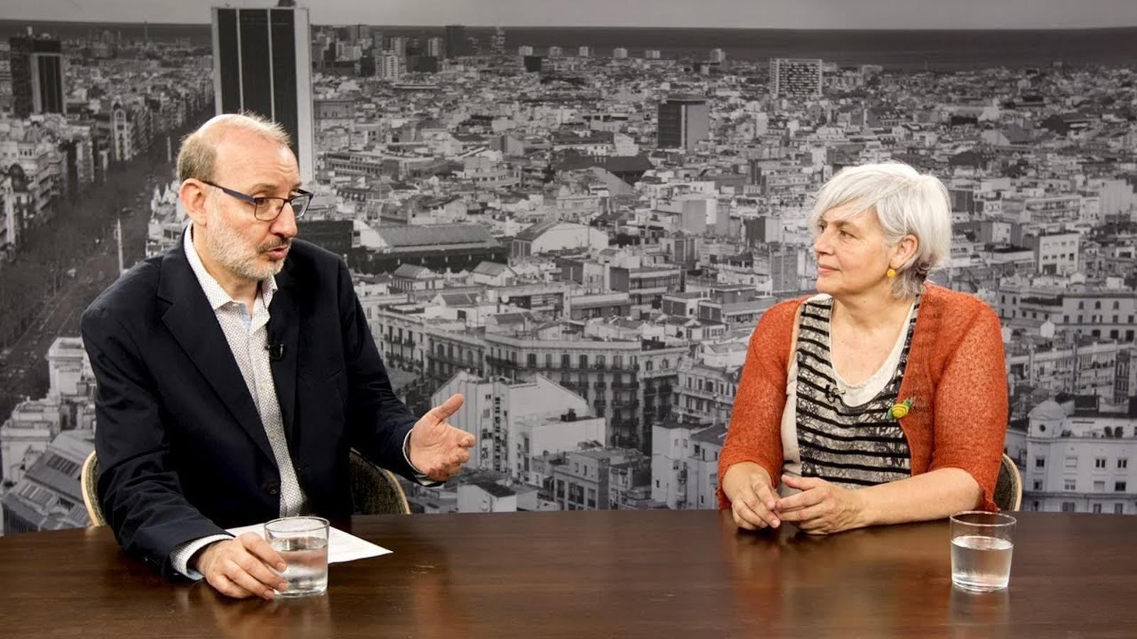 Entrevista d'Antoni Bassas a Dolors Sabater