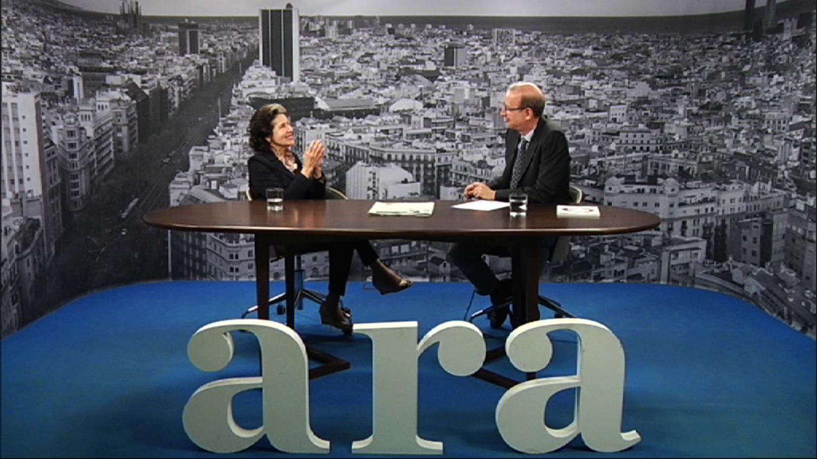 Entrevista d'Antoni Bassas a Marta Casals