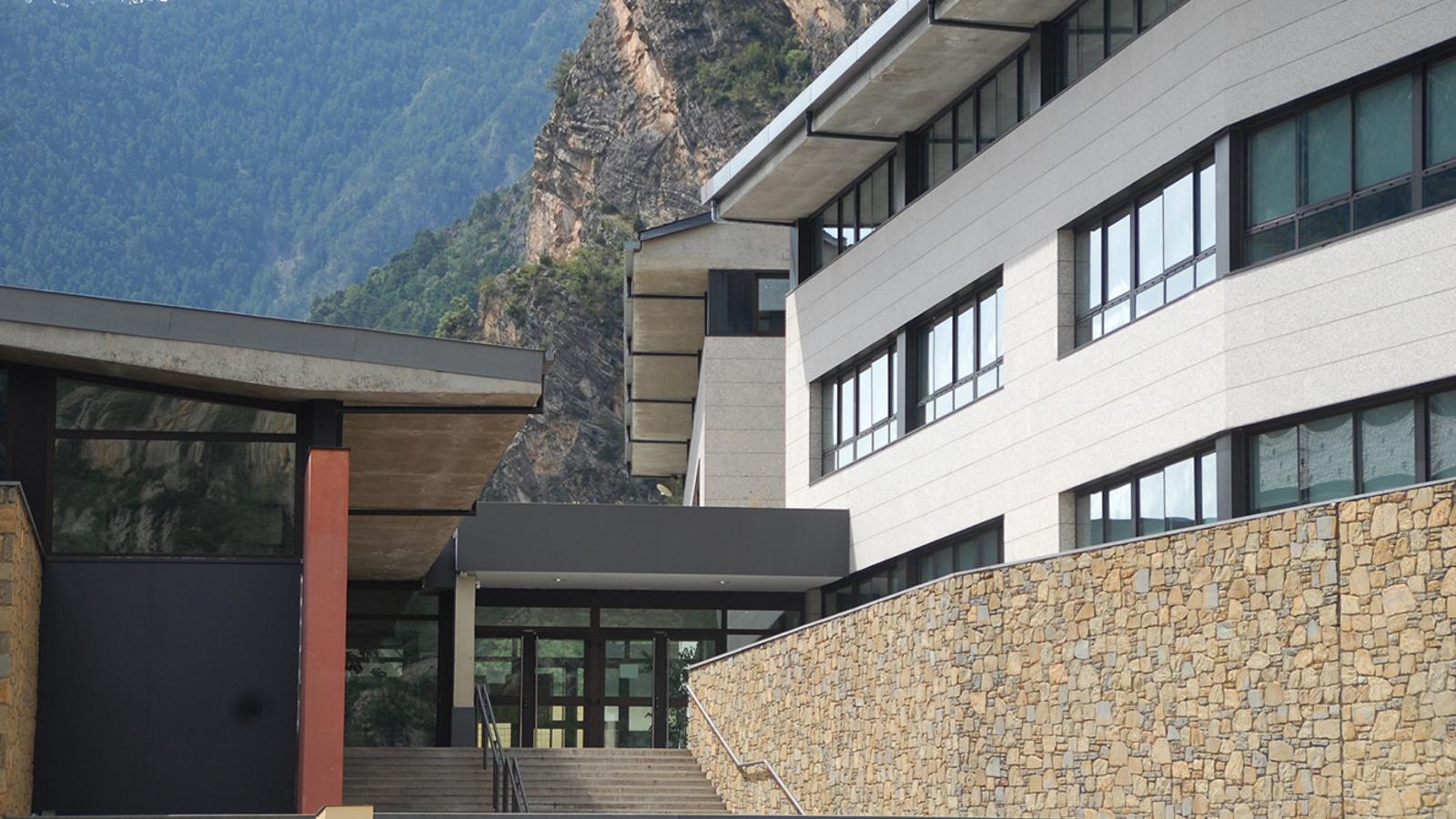 L'escola andorrana de la Margineda. / ARXIU ANA