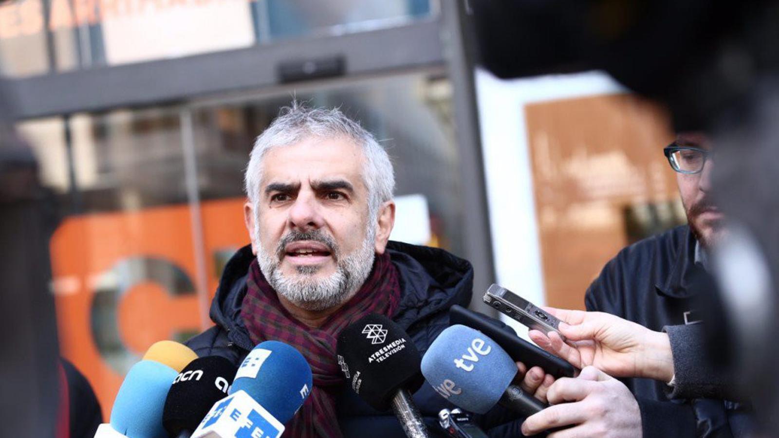 Cs presenta un recurs a la Junta Electoral perquè Junqueras i Comín no participin en un debat de TV3