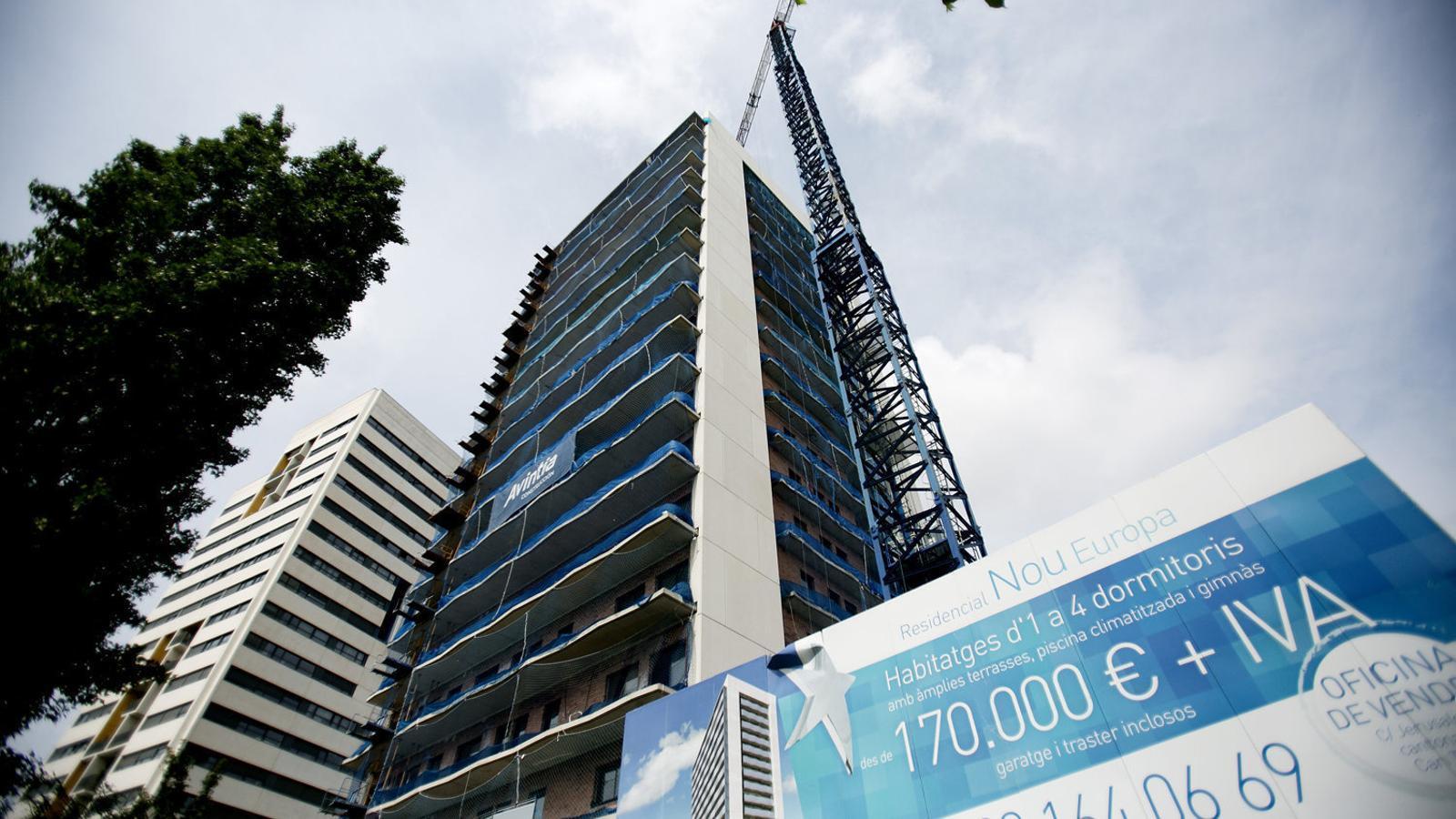 El sector privat demana incentivar la creació d'habitatge assequible en tota l'àrea metropolitana de Barcelona