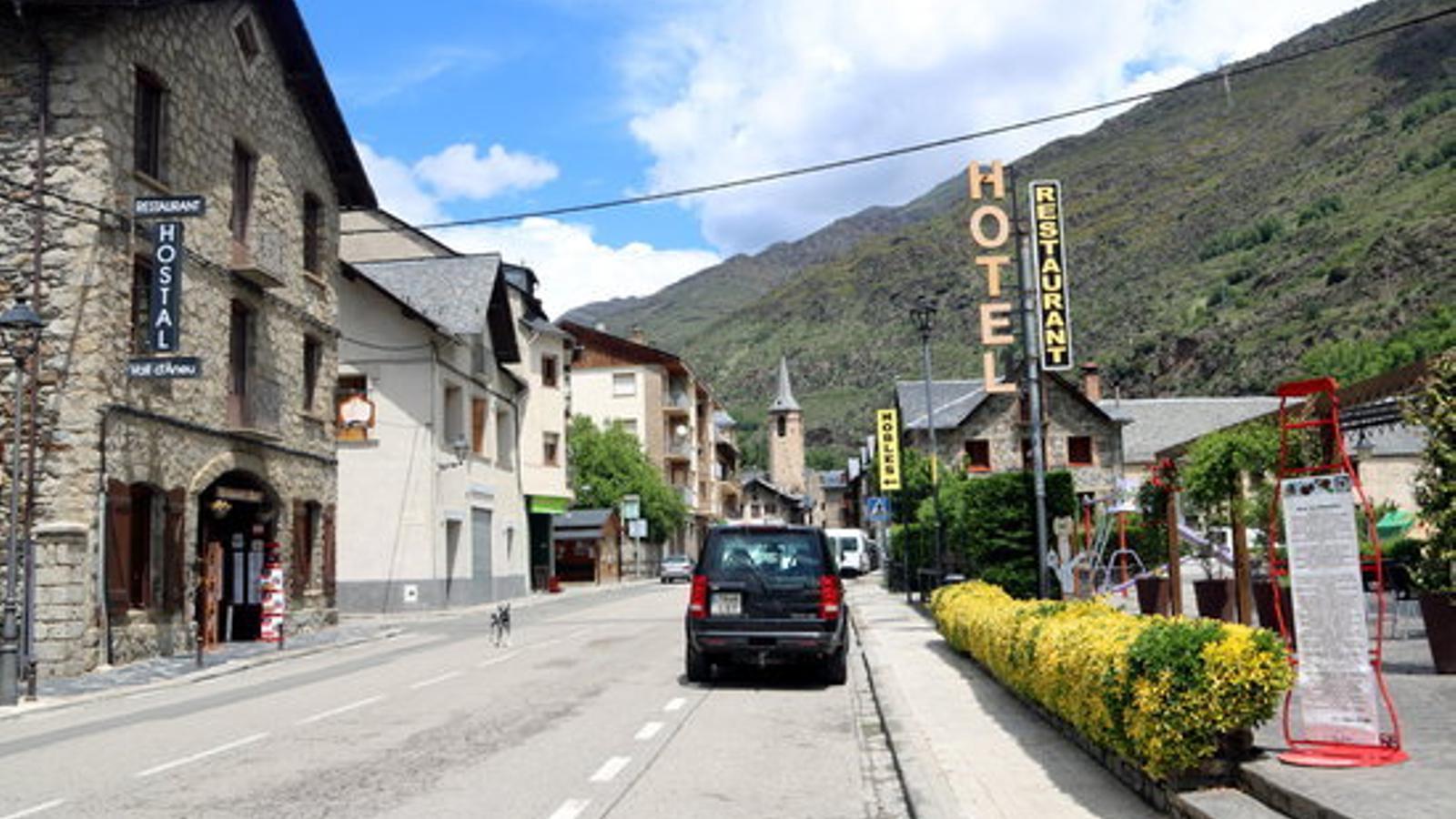 Establiments hotelers d'Esterri d'Àneu. / ACN