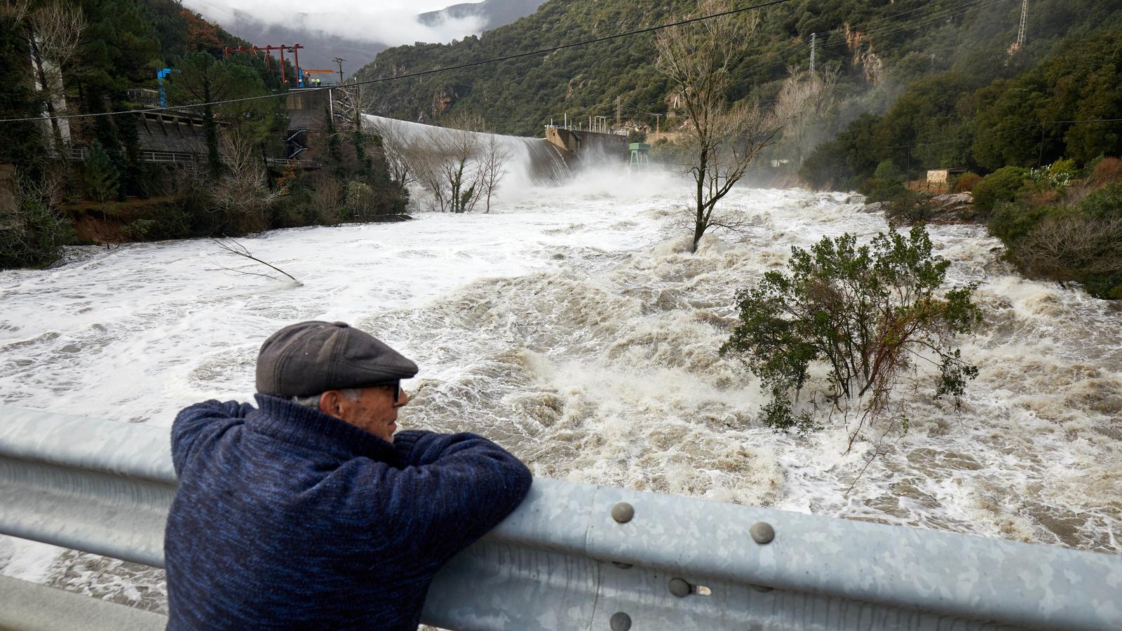 Preocupació per l'aigua que s'acumula als embassaments: el Ter multiplica per 250 el seu cabal a Girona