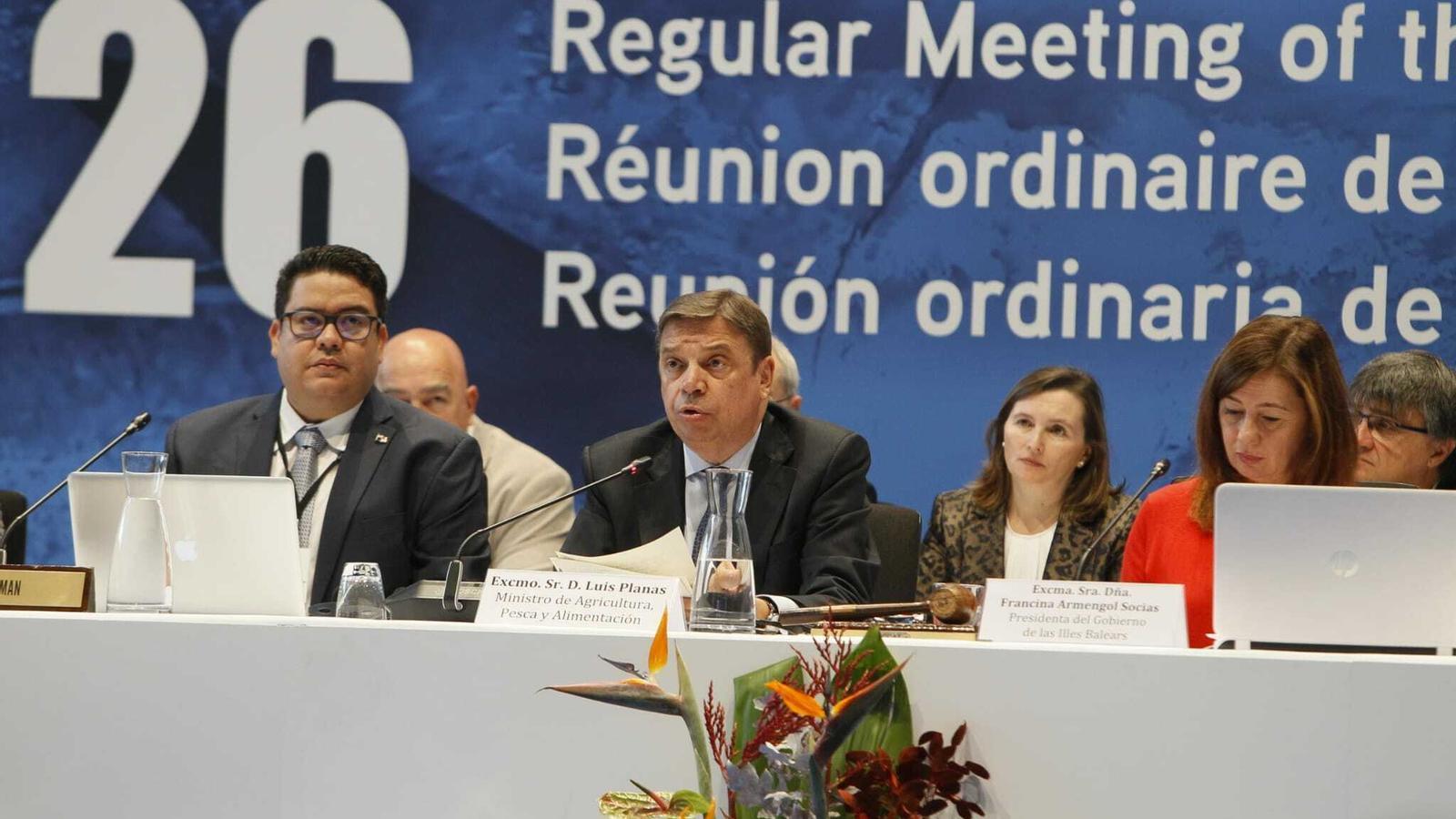 El ministre Luis Planas a la reunió de l'Iccat a Palma