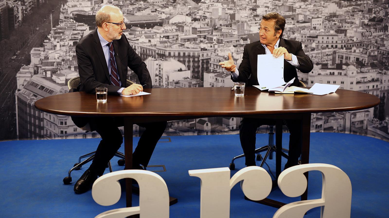 Entrevista d'Antoni Bassas a Josep Pujol Ferrusola