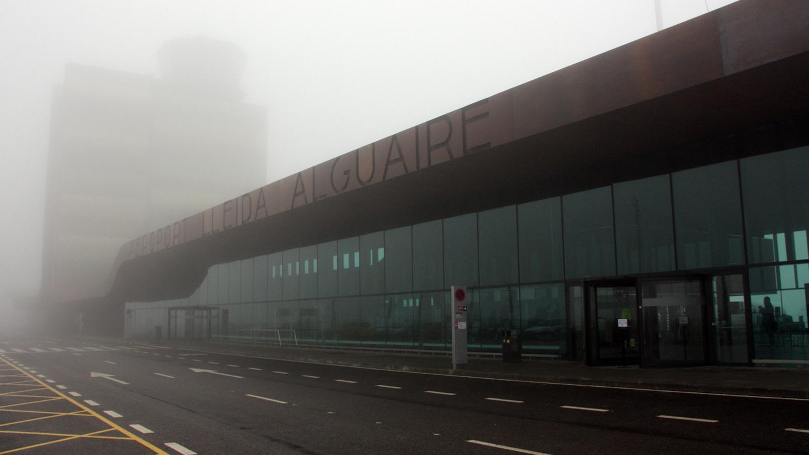 Boira persistent a l'aeroport de Lleida-Alguaire / ACN