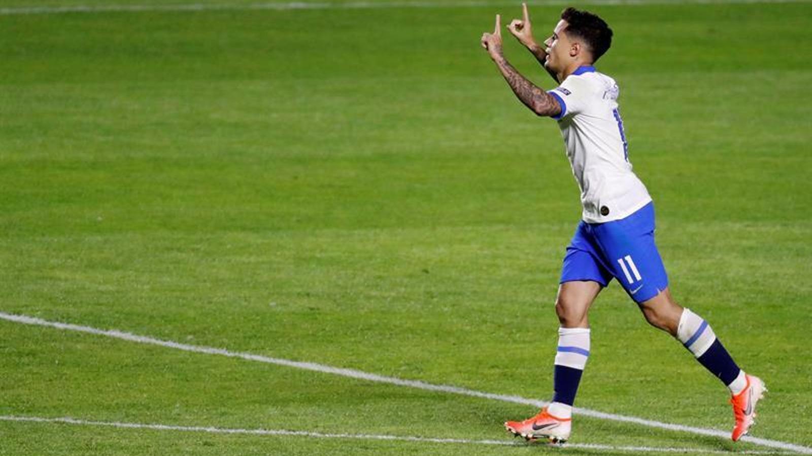 Coutinho marca dos gols en el debut del Brasil a la Copa Amèrica (3-0)