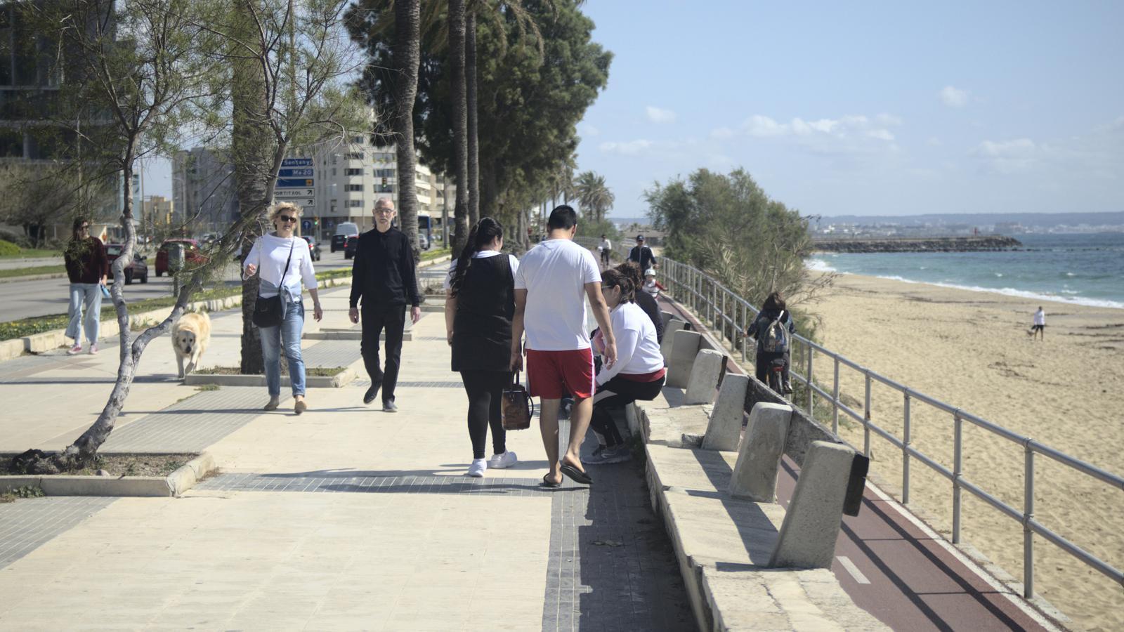 L'Ajuntament de Palma tancarà al trànsit 14 quilòmetres de carrers per ampliar les zones de passeig