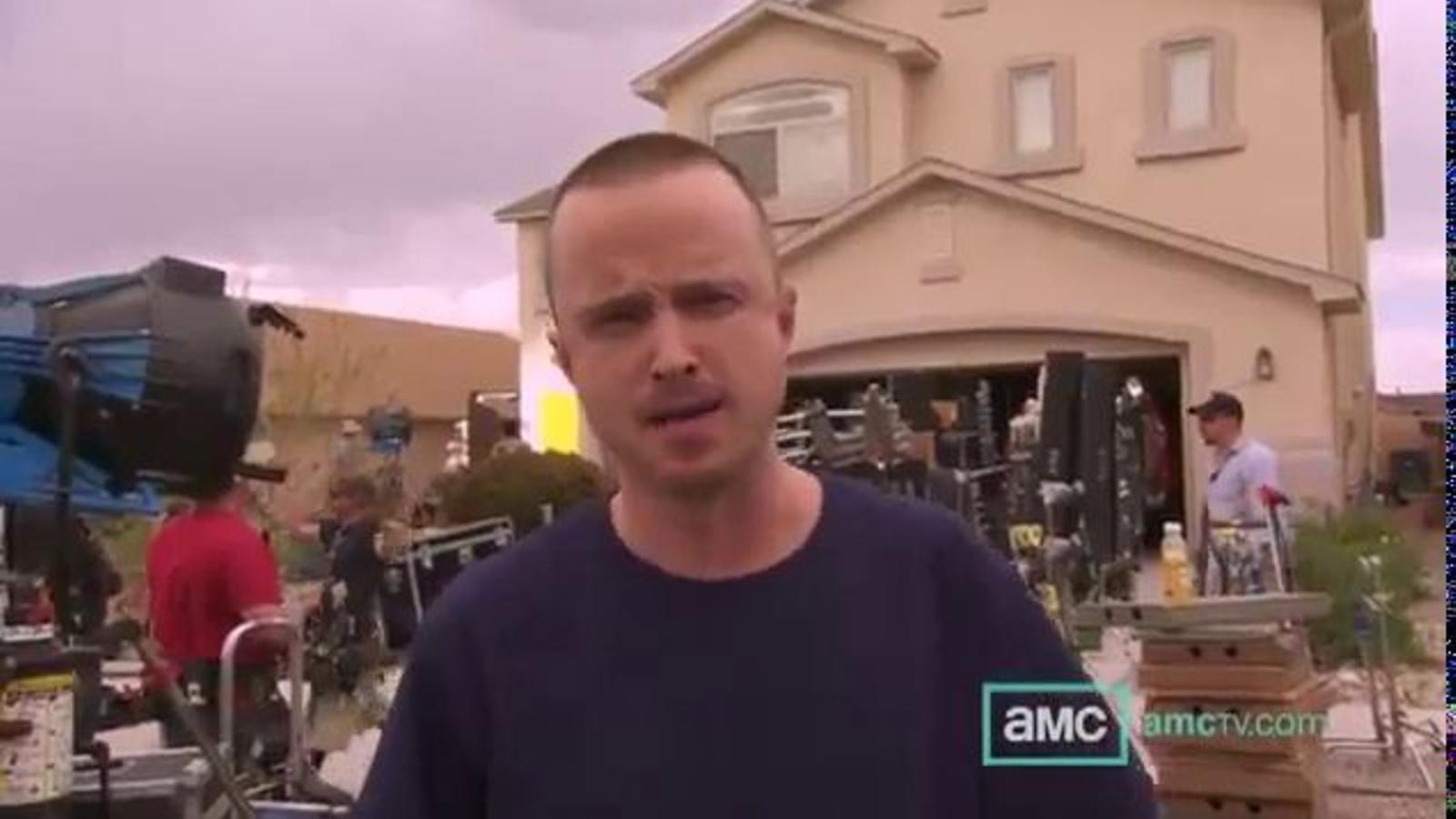 La cinquena temporada de 'Breaking Bad', al rodatge