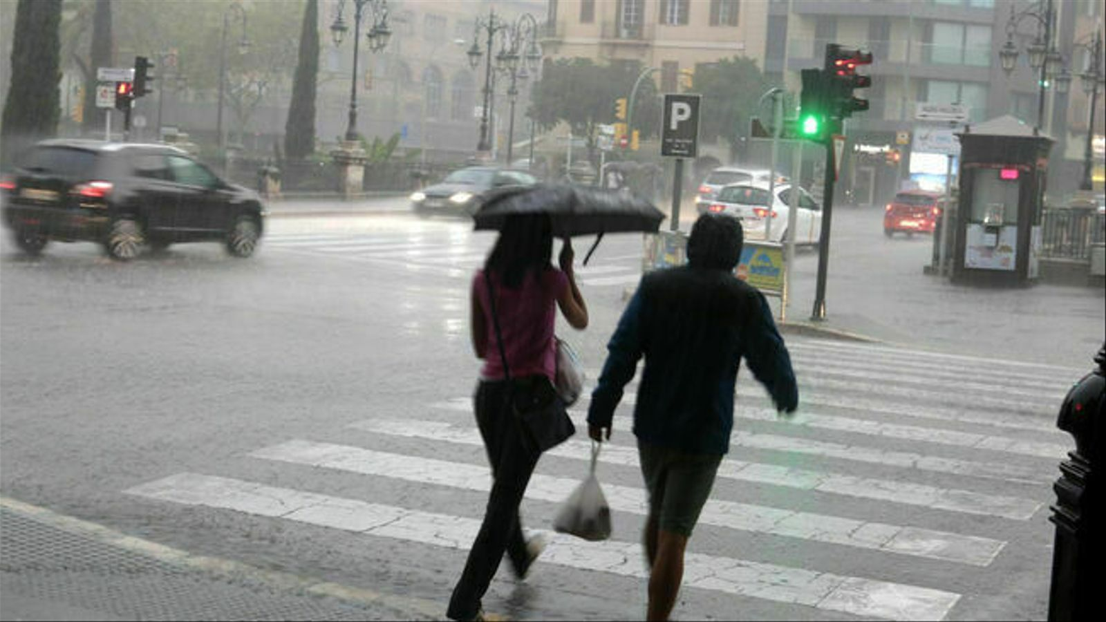 Possibilitat de tempesta aquest diumenge a les Balears. / ENRIQUE CALVO