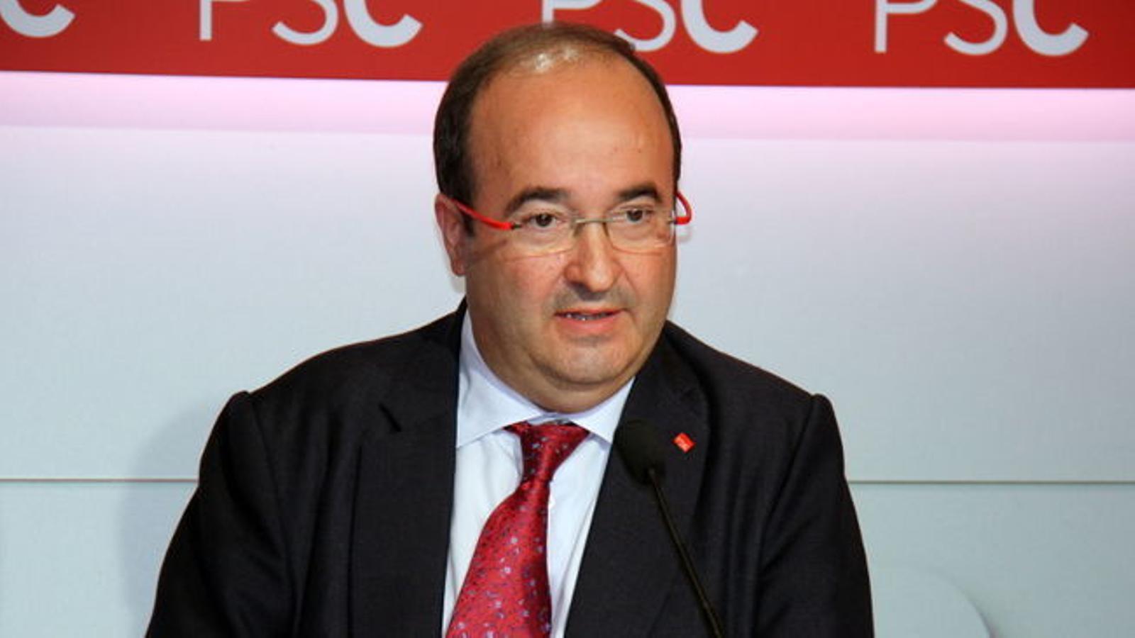 """Iceta veu un error donar-li a Puigdemont un """"plus de representativitat"""" en al·lusió a la possible reunió amb Iglesias"""