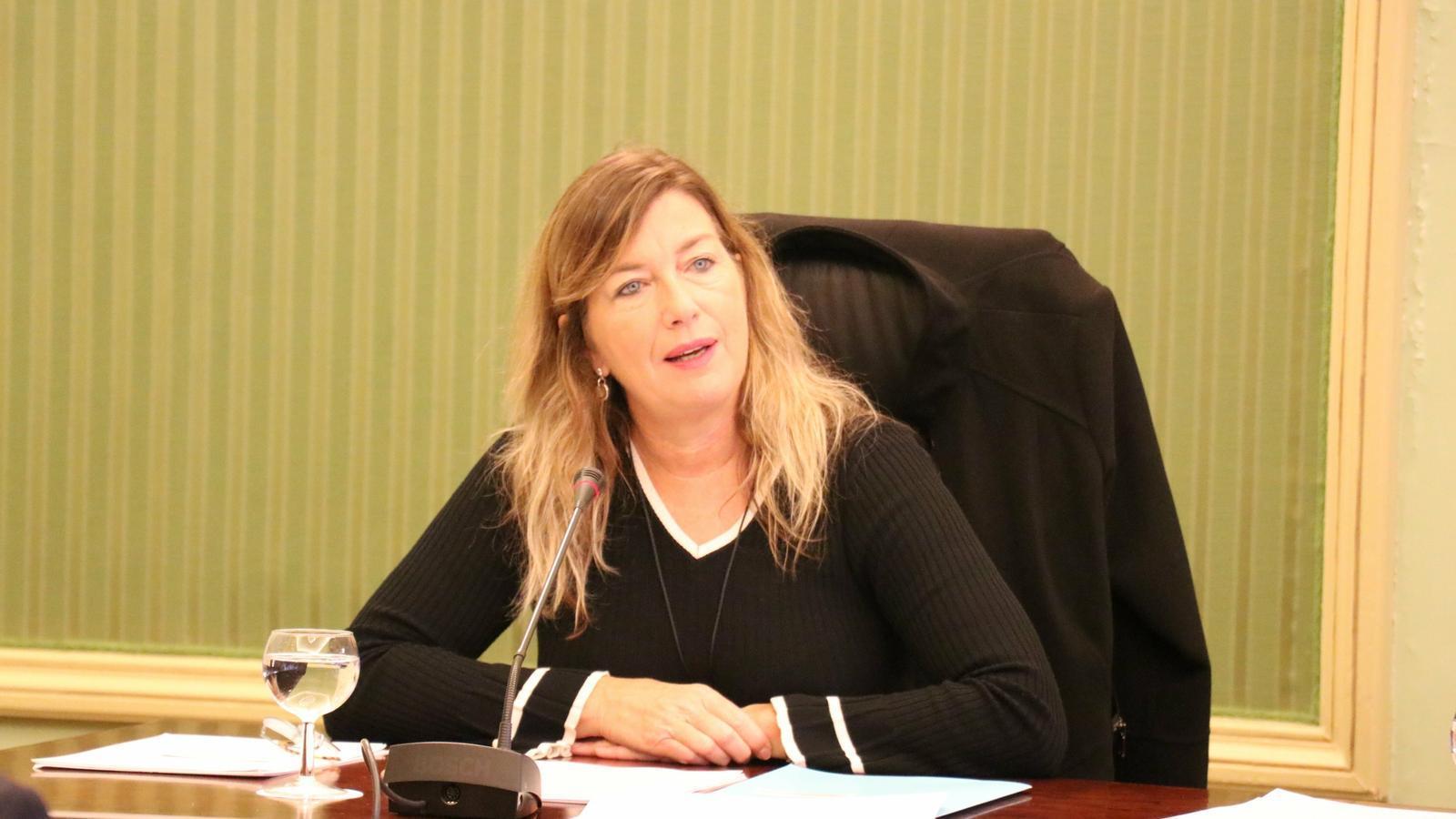 La consellera de Salut i Consum, Patrícia Gómez, aquest dijous en el Parlament
