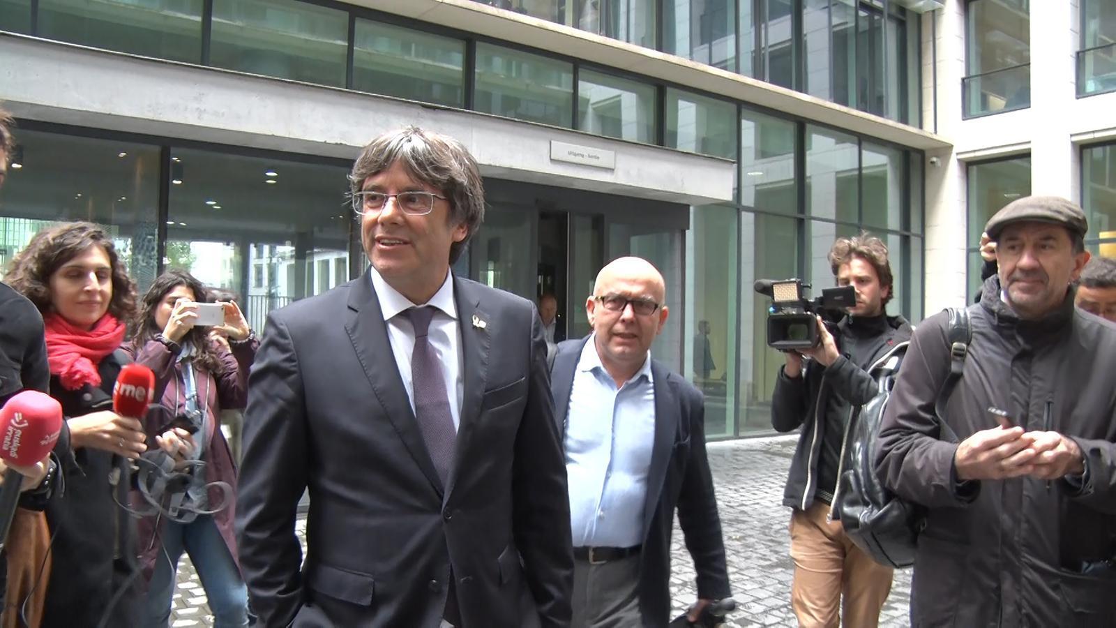 La justícia belga ajorna fins al 16 de desembre la vista sobre l'extradició de Puigdemont