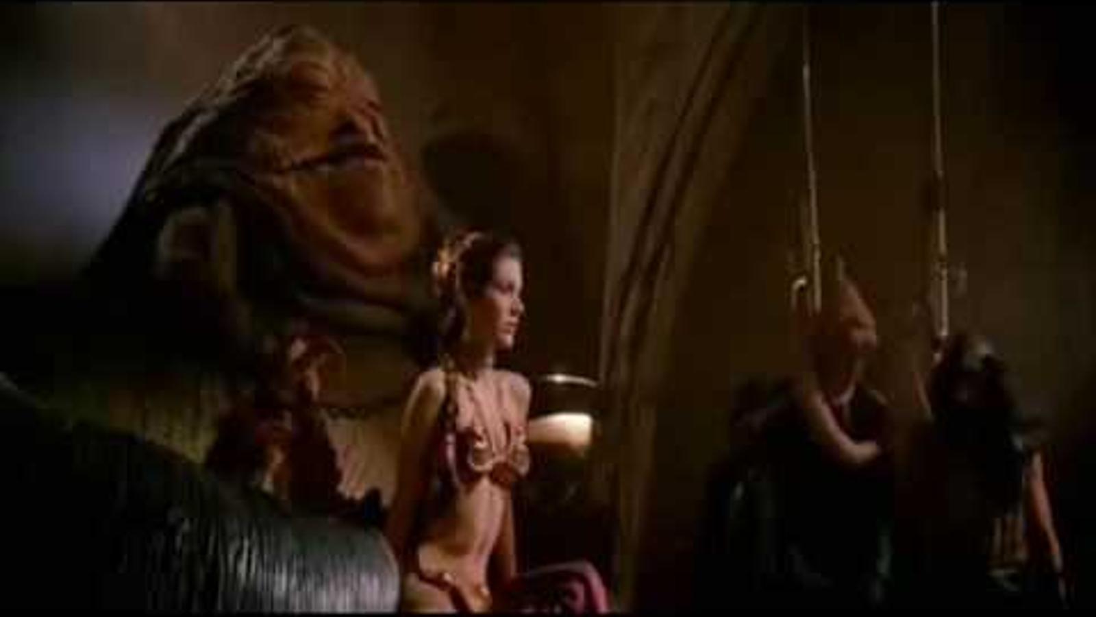 Carrie Fisher a 'El retorn del Jedi'