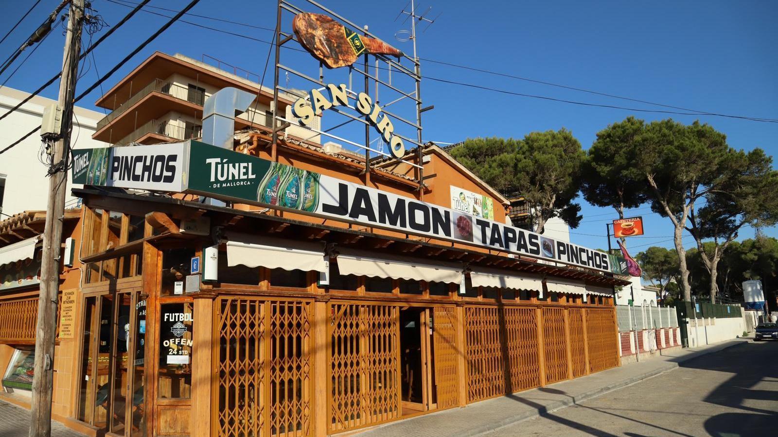 """El propietari del local que va donar nom al carrer 'del Jamón' de l'Arenal: """"Per què s'han de ficar amb nosaltres?"""""""