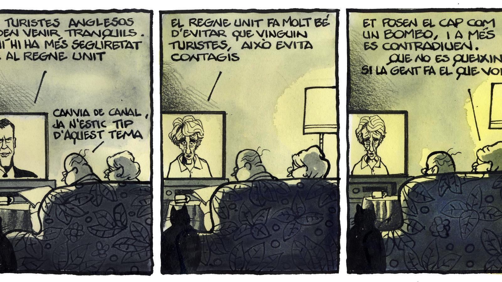 'A la contra', per Ferreres 31/07/2020