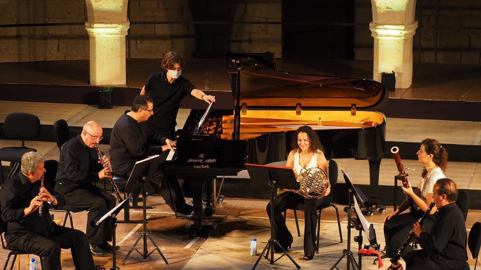 La Simfònica actuarà aquest cap de setmana al Castell de Bellver de Palma, al Castell de Sant Antoni de Fornells i a l'Església Nova de Son Servera