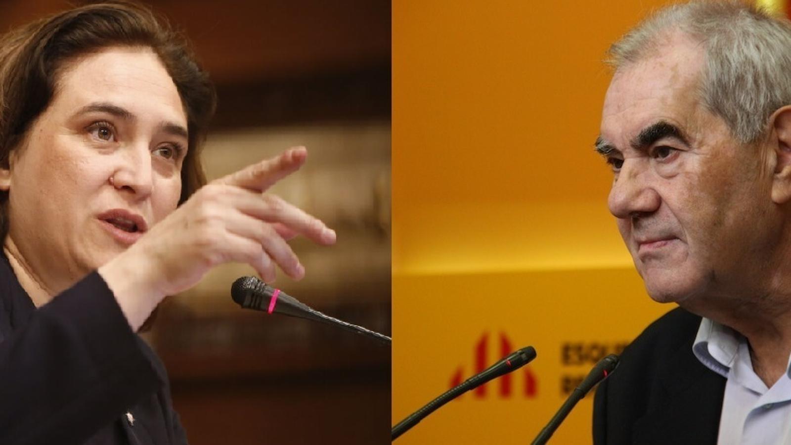 Cara a cara entre Maragall i Colau, a la Ser Catalunya