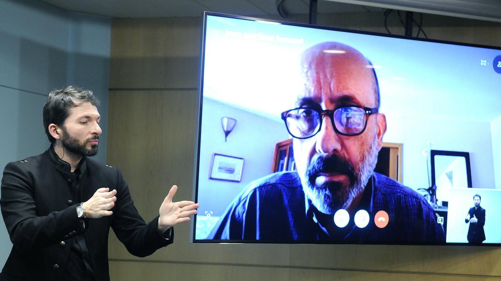El ministre de Salut, Joan Martínez Benazet, en una imatge recent d'arxiu. / SFG