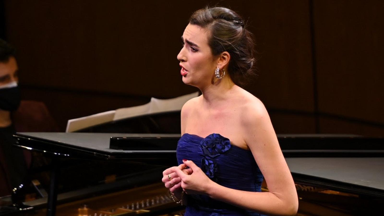 La mezzosoprano basca Carmen Artaza