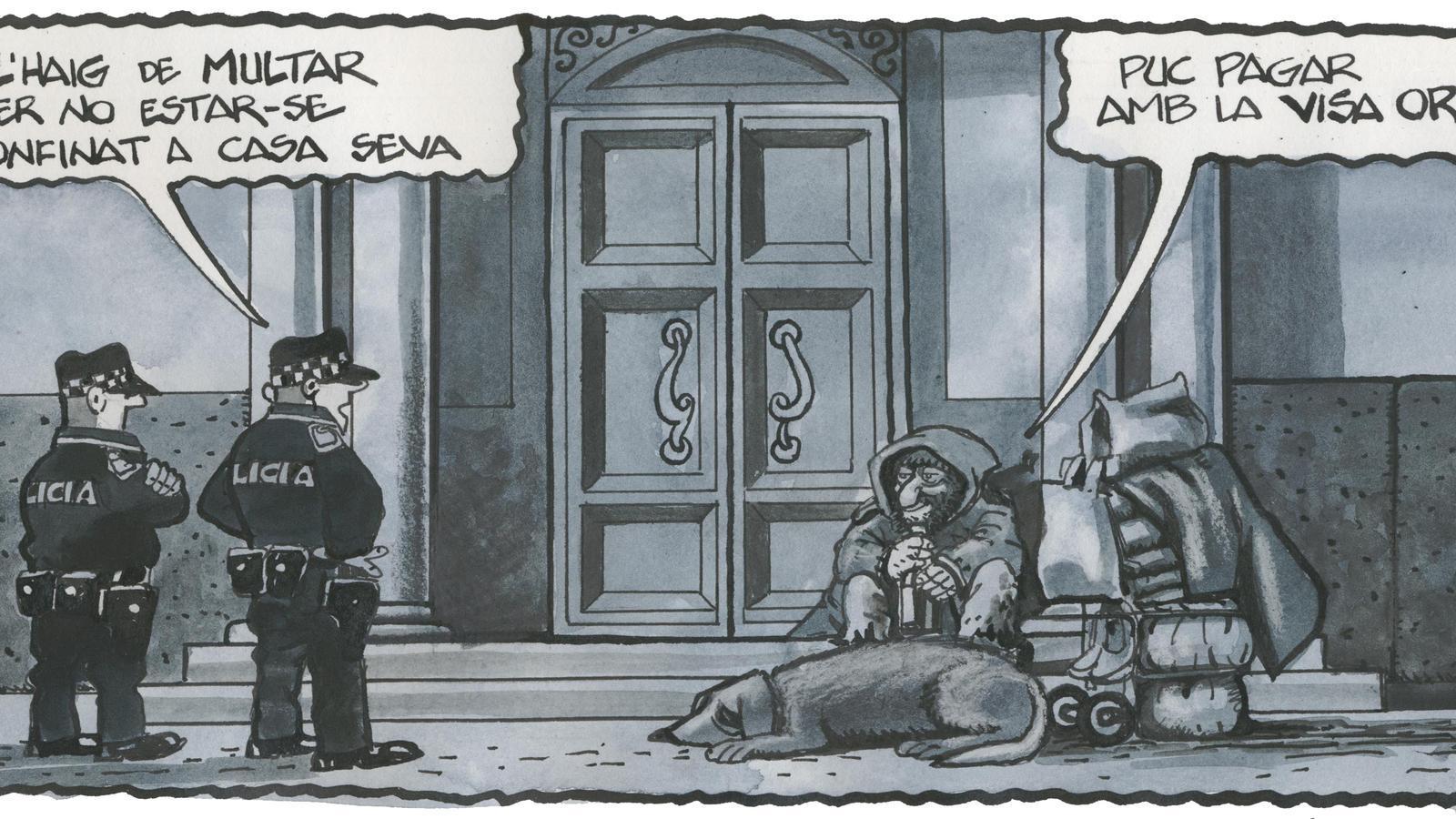 'A la contra', per Ferreres 26/03/2020