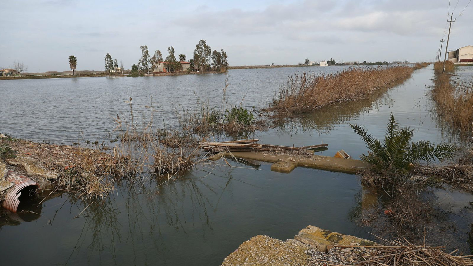 La solució del delta de l'Ebre, 90 quilòmetres riu amunt