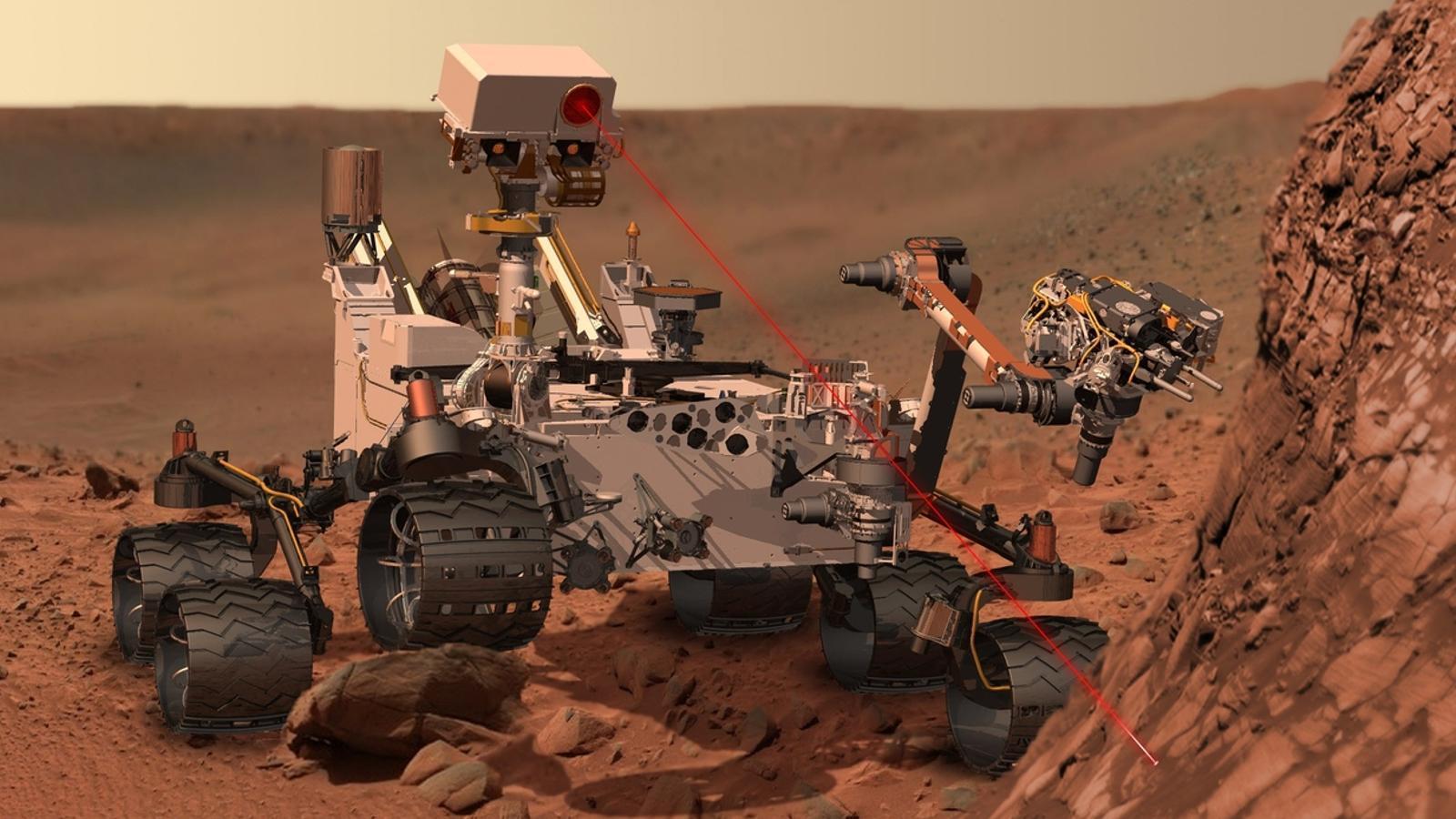 El Curiosity troba indicis d'aigua salada a Mart