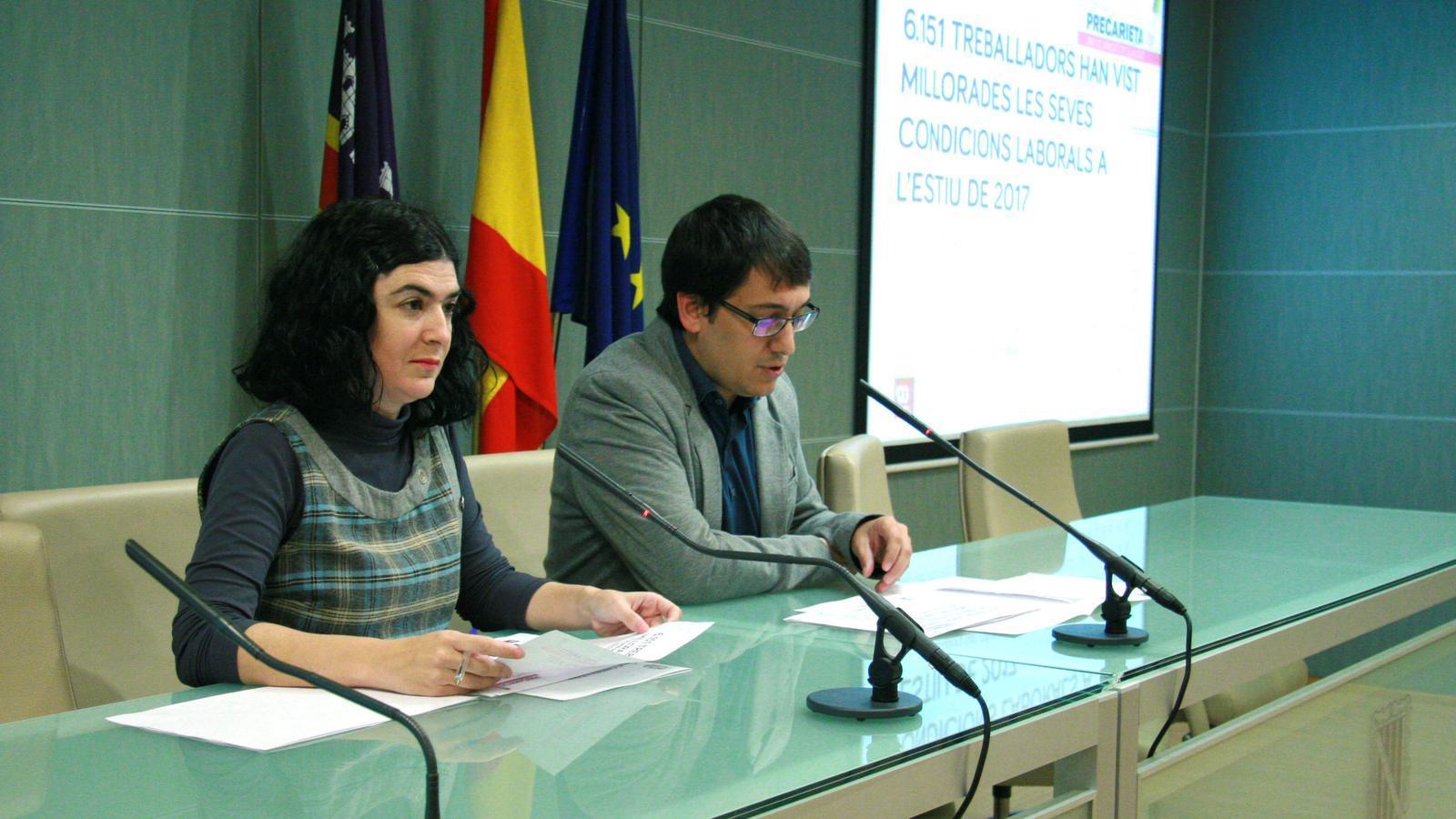 El conseller de Treball, Comerç i Indústria presenta els resultats del Pla de Lluita contra la Precarietat en el Treball