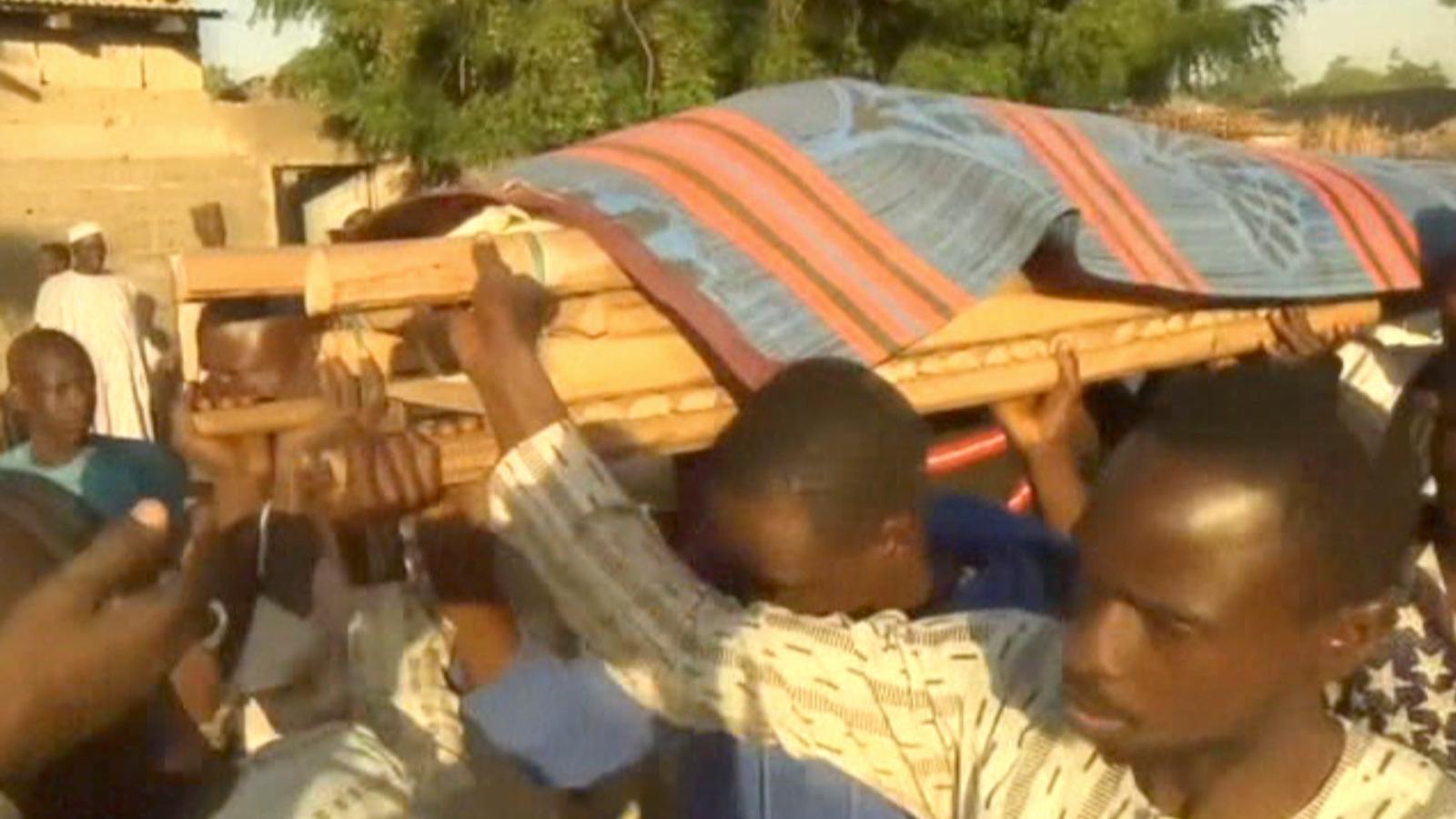 Imatge d'un atemptat del passat 16 de novembre a la ciutat nigeriana de Maiduguri