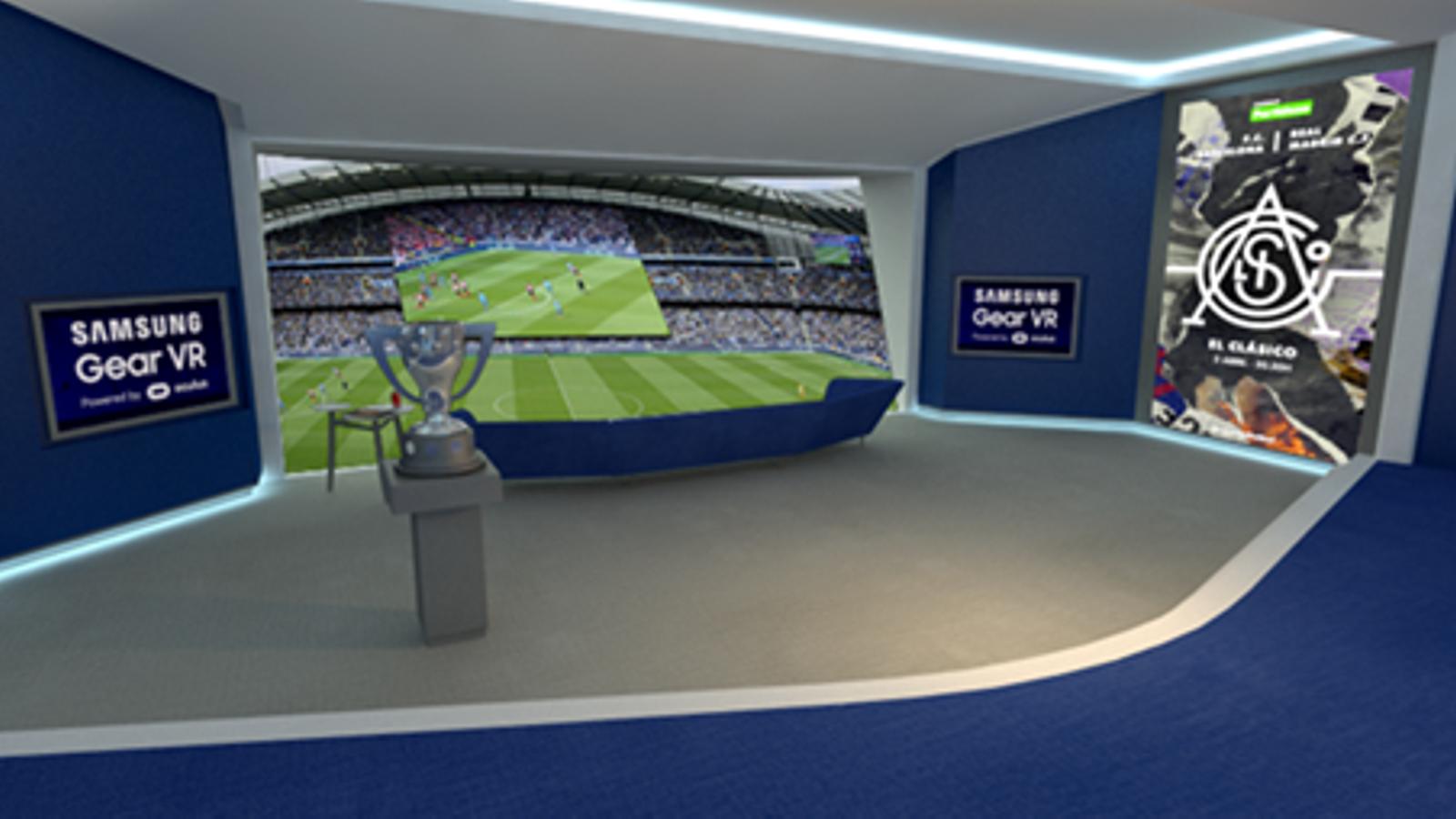 L'emissió es podrà seguir en espais habilitats per Samsung a les botigues Telefónica de Barcelona i Madrid. / TELEFÓNICA