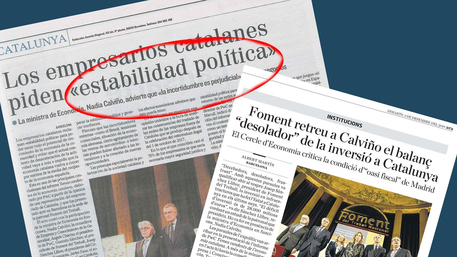 L'anàlisi d'Antoni Bassas: 'I a sobre demanen estabilitat'