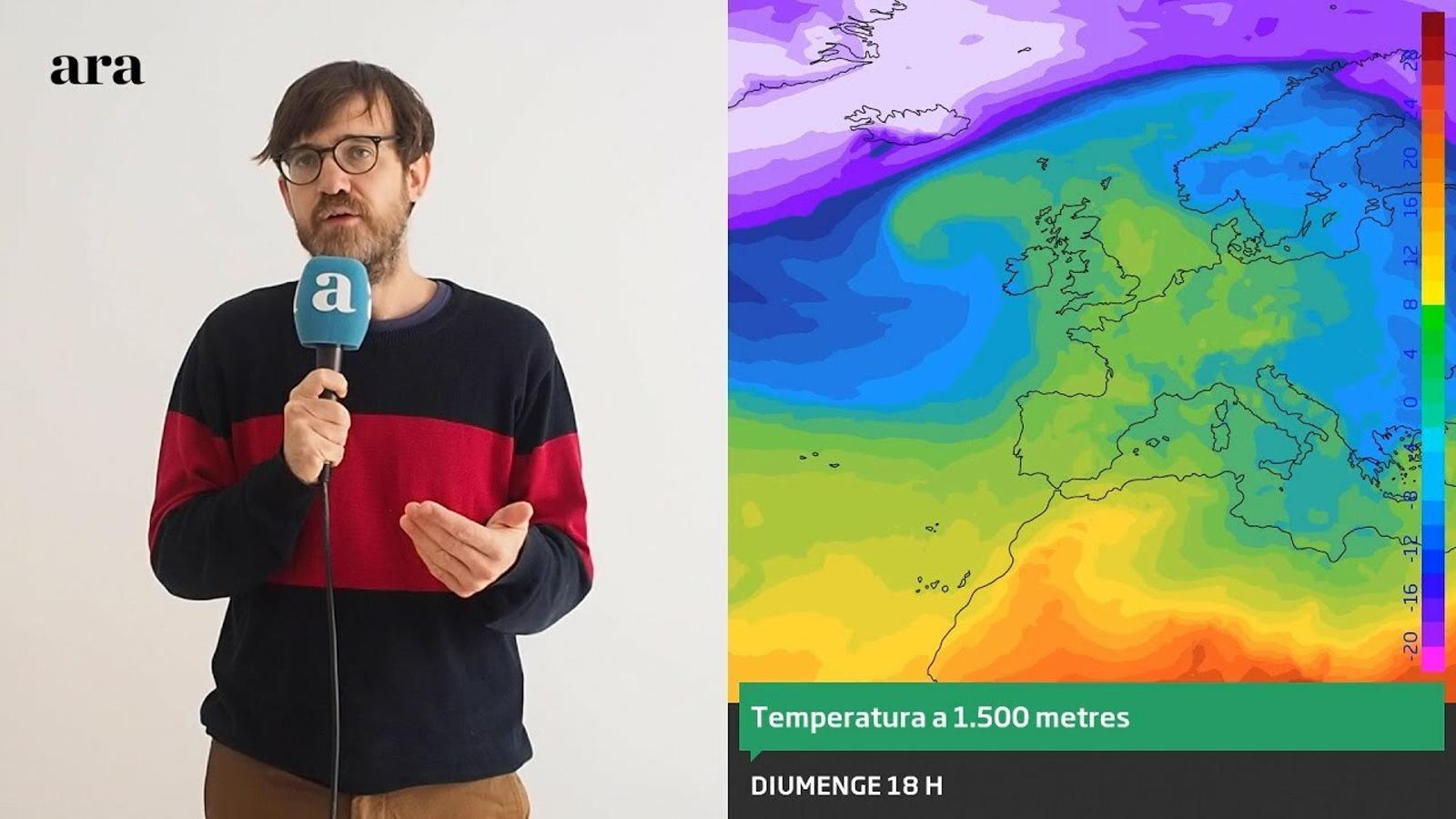 La méteo: cap de setmana amb més clarianes i menys fred