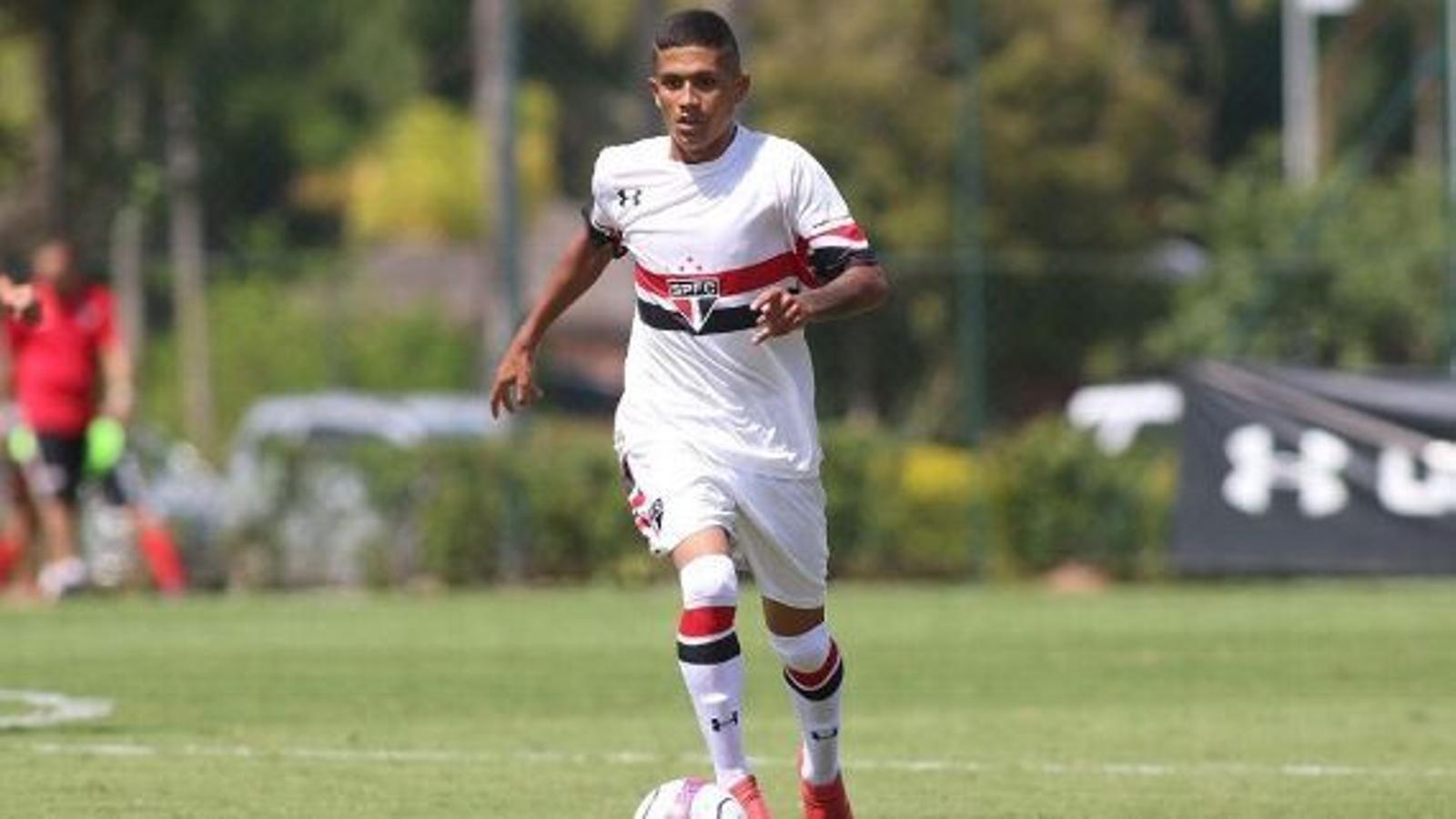 Gustavo Maia en un partit amb el Sub-19 del Sao Paolo / ESPN