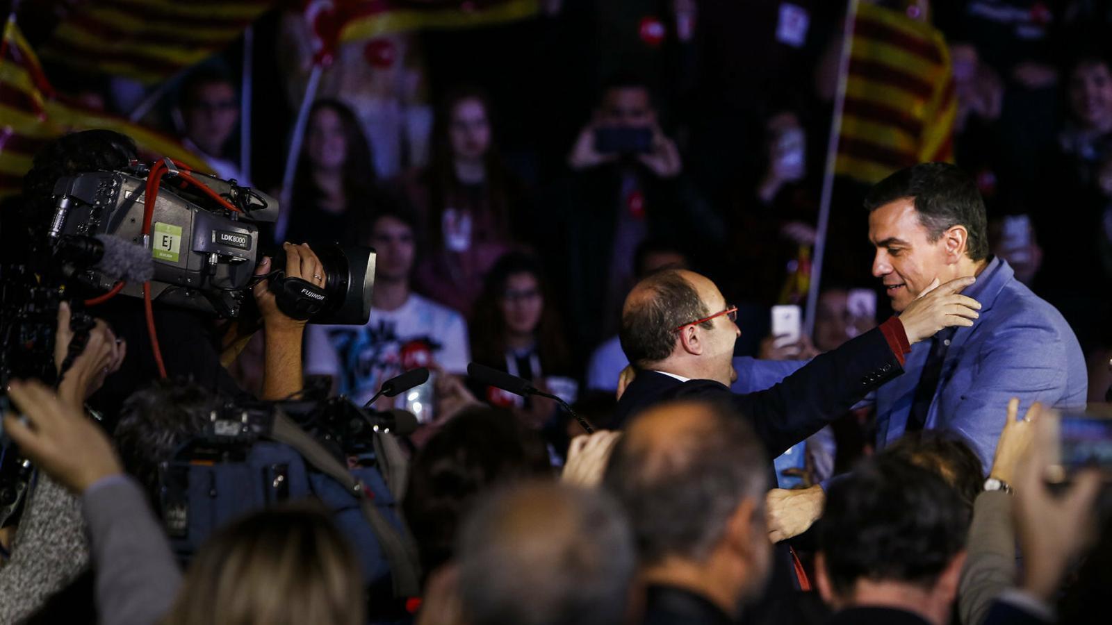 Partit socialista Pedro Sánchez