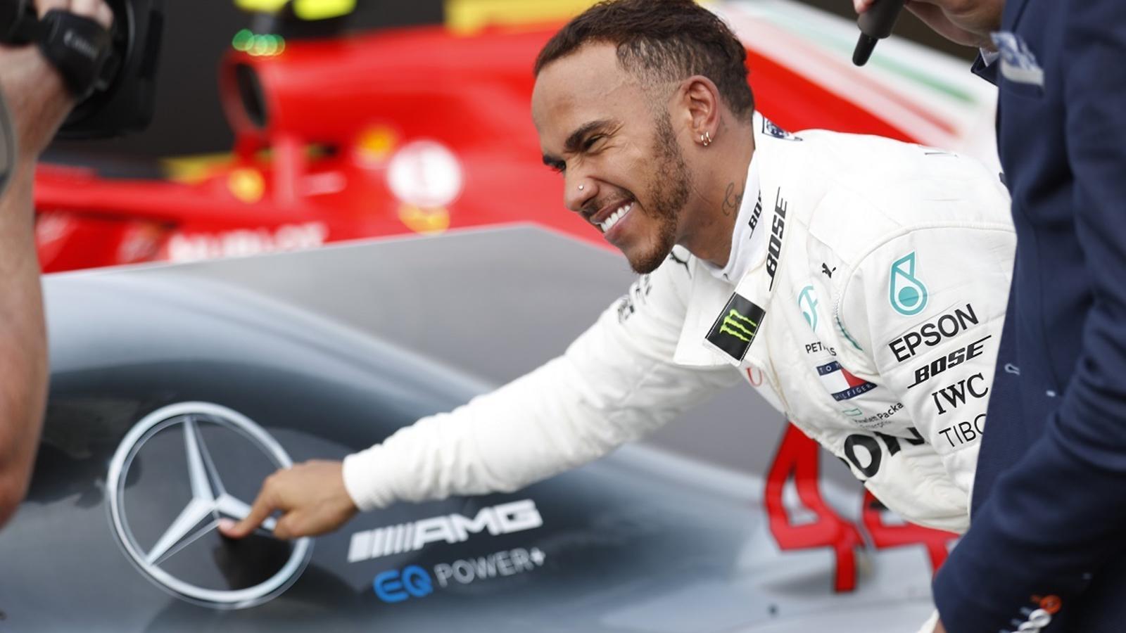Lewis Hamilton, pilot de Mercedes