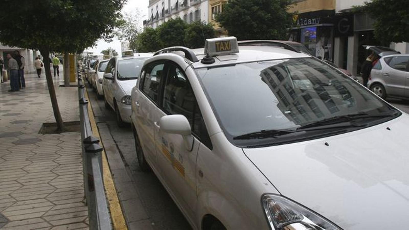 Els taxis es pagaran amb un tiquet comprat a l'EMT.