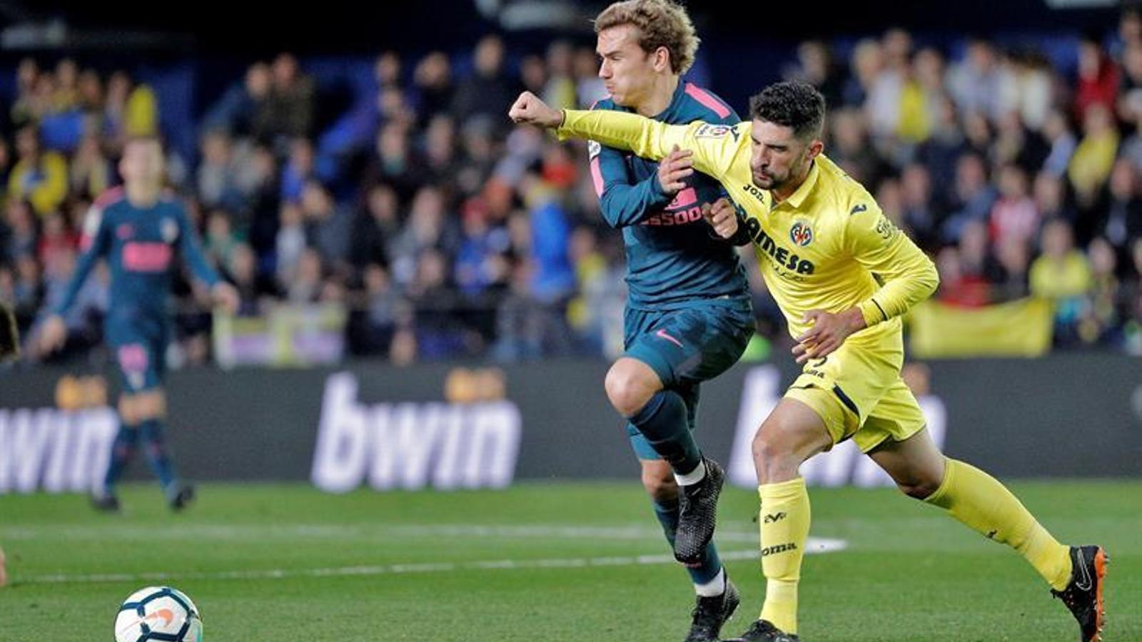 L'Atlètic de Madrid cau a Vila-real i queda a 11 punts del Barça