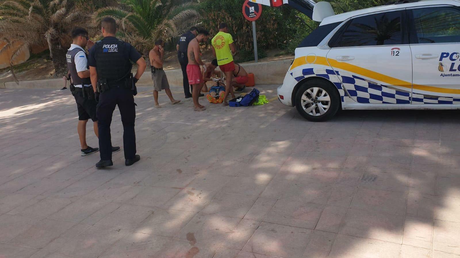 Un home en estat greu després de caure d'uns 12 metres a Peguera