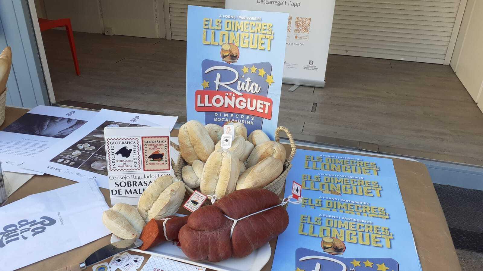 Un total de 35 forns de Palma participaran en la sisena edició de la Ruta del Llonguet