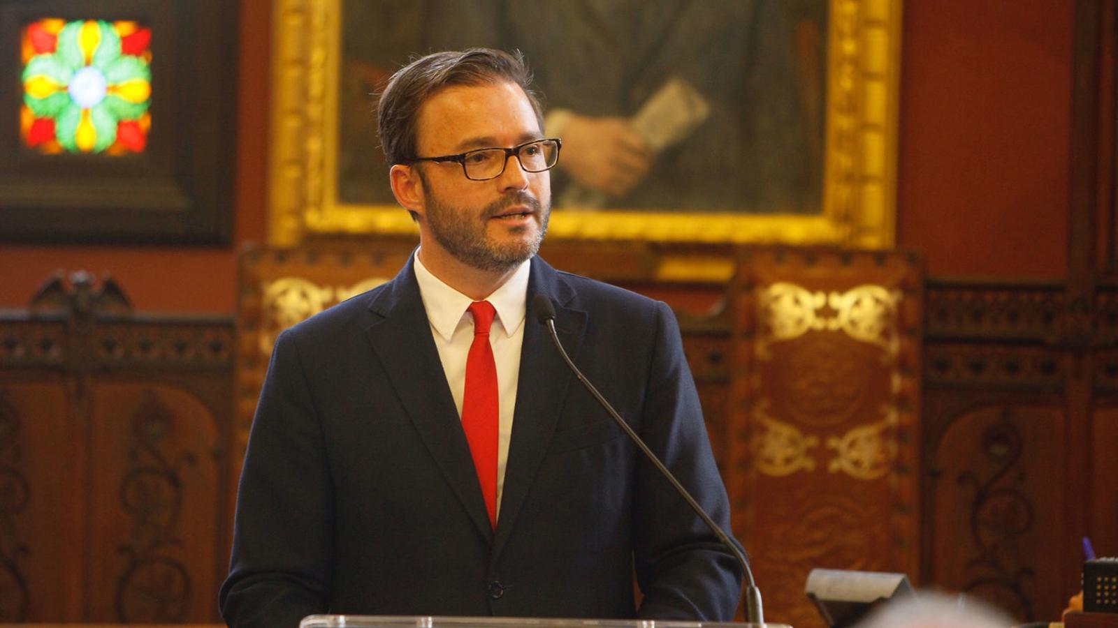 L'exbatle de Palma i regidor d'Urbanisme, José Hila.