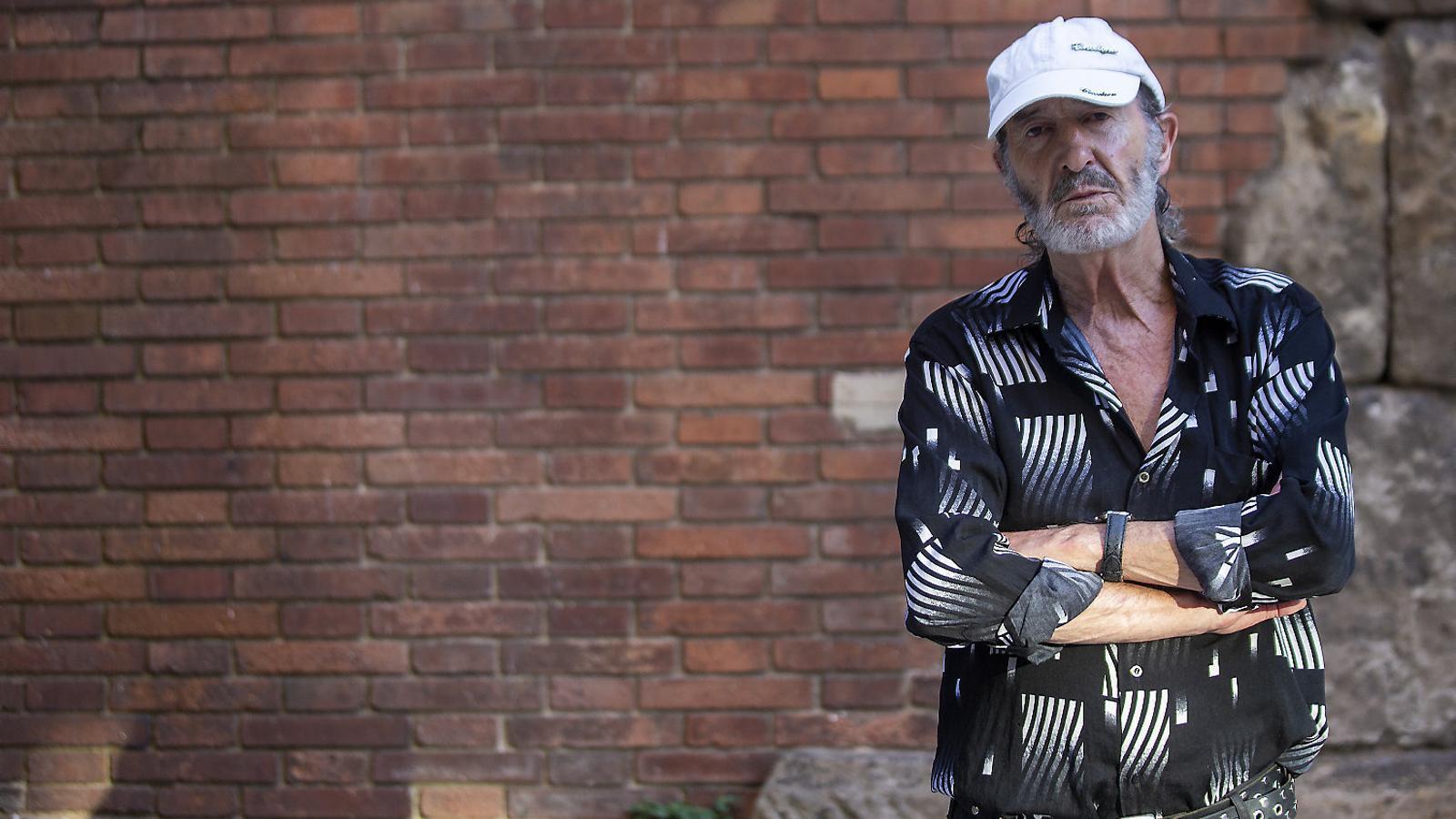 """Miquel Fuster:""""Beure és l'únic que et salva quan vius al carrer; si no, et tornes boig"""""""