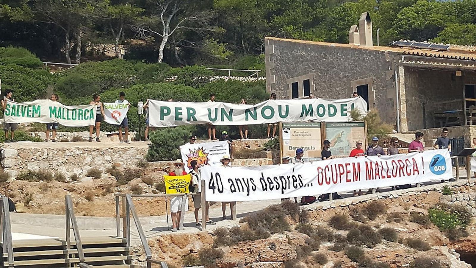 Del 'Salvem la Dragonera' a haver de salvar totes les Illes Balears