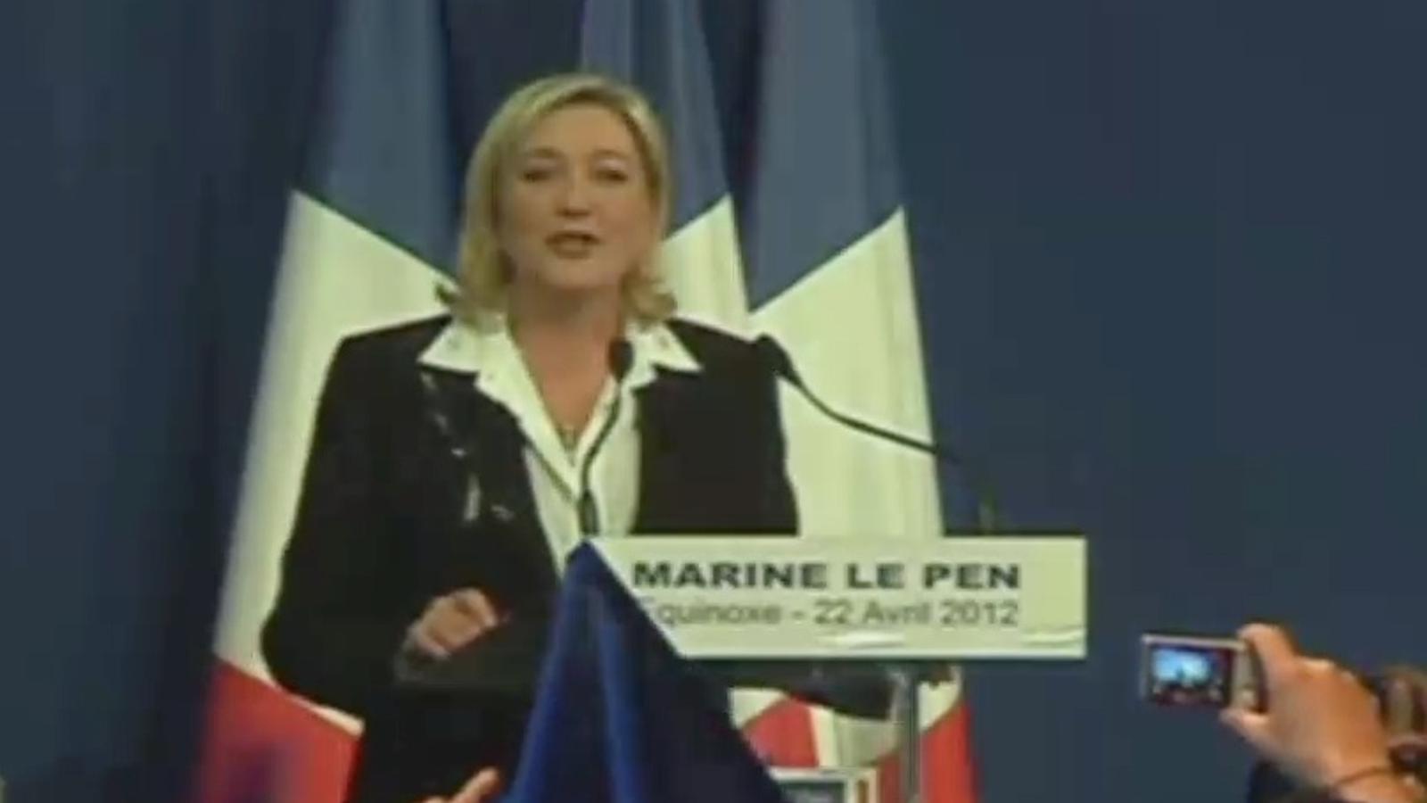 Hollande i Sarkozy es veuran les cares a la segona volta de les presidencials franceses, malgrat la sorpresa de la ultradreta