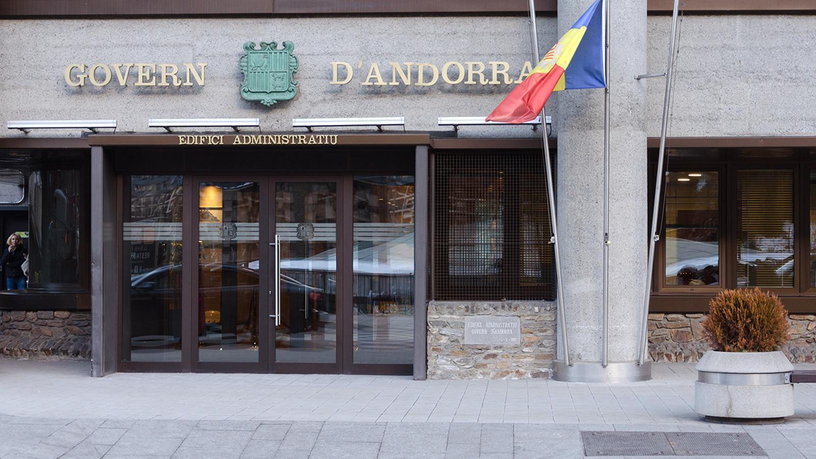 L'edifici administratiu del Govern. / ARXIU ANA
