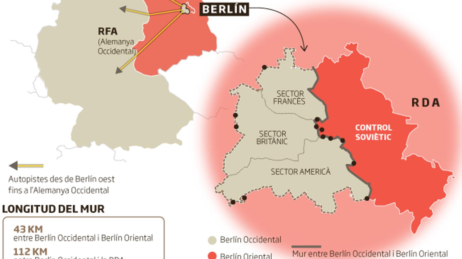 El Mur de Berlín,  30 anys després