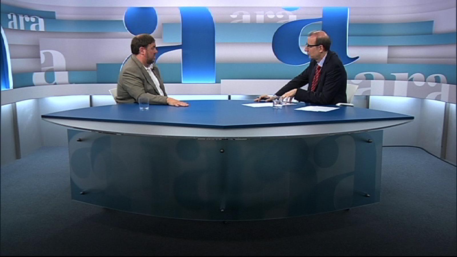 Oriol Junqueras: Som aquí per salvar el país i farem tot el possible per fer-ho