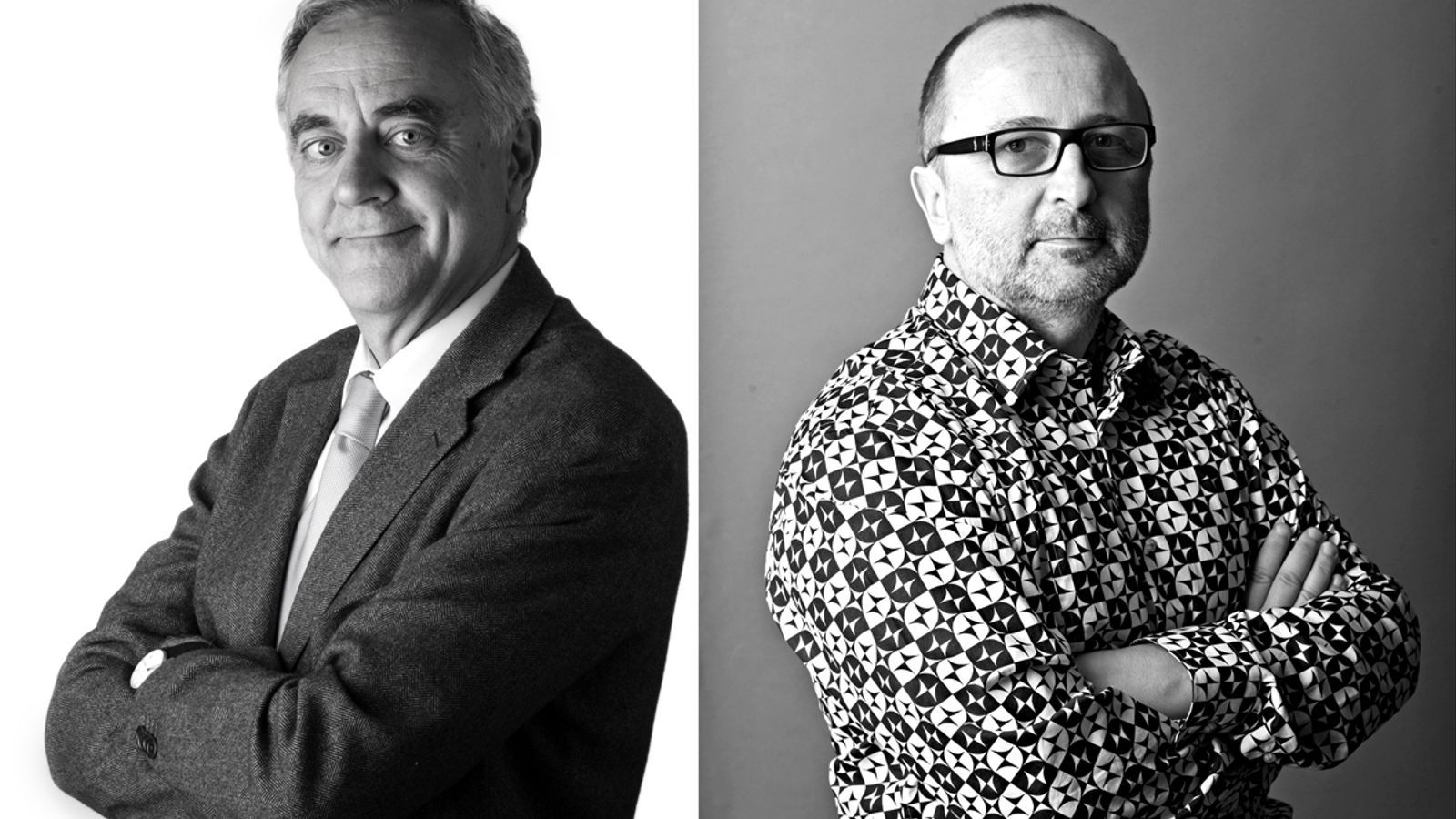 Miquel Puig i Xavier Fina, 'Cartes creuades per al 27-S'