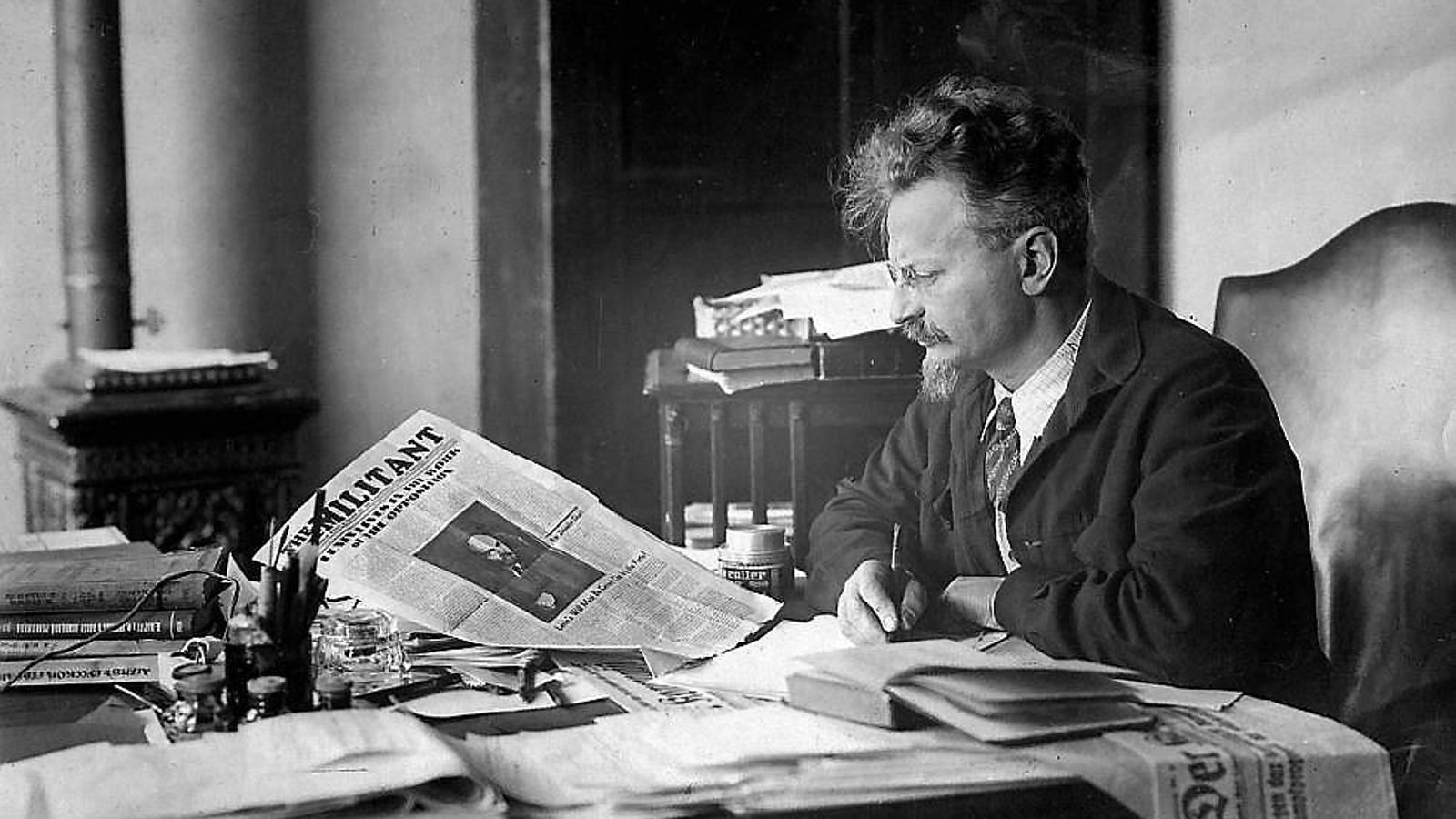 La vida y la muerte de León Trotsky