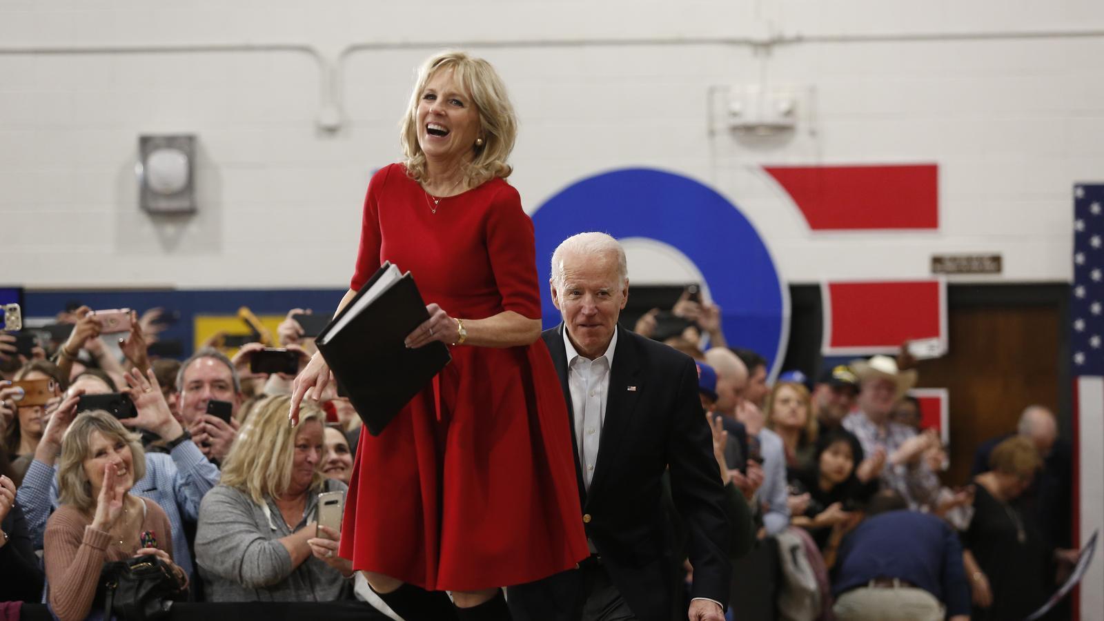 Jill Biden viste ropa de diseñador mexicano, previo a toma